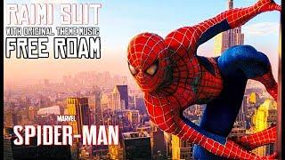 Raimi Suit with Danny Elfman Original Theme Music Soundtrack (Spiderman 2002) Spiderman PS4 FULL HD