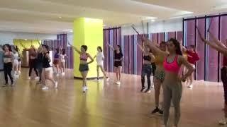 """32 cô gái xinh đẹp luyện tập chuẩn bị cho chương trình """"Nóng cùng WC 2018"""""""