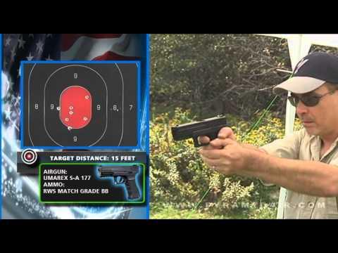Video: Umarex SA177 BB pistol - AGR Episode #50    Pyramyd Air