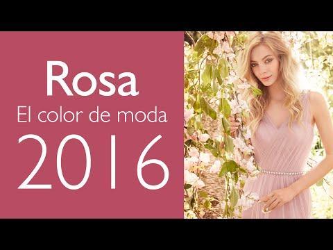Vestidos en Rosa Cuarzo: ¡El Color Tendencia en 2016!