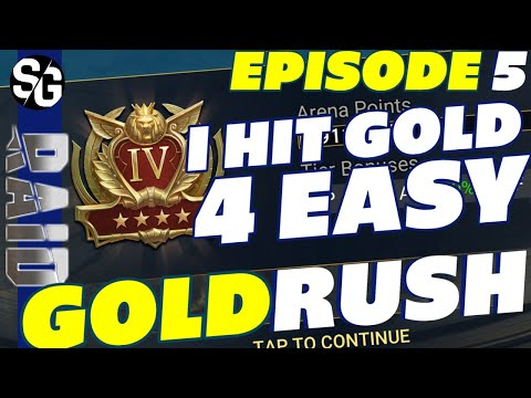 RAID SHADOW LEGENDS | GOLD 4 IN 1HR 19MIN GOLDRUSH UPDATE