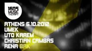 1605 in Athens / UMEK, Uto Karem, Christian Cambas, Rena Bak / 06.10.12