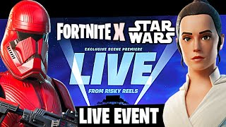 Fortnite X Star Wars EVENT LIVE COUNTDOWN! NEW FORTNITE UPDATE (Fortnite NEW Event)