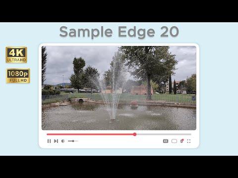 Test di ripresa da Motorola Edge 20 in 4 …