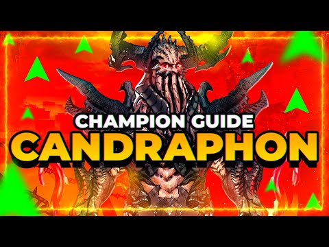 Candraphon Champ Guide! BUFFED in 2.20! Is he worth it now? | RAID Shadow Legends