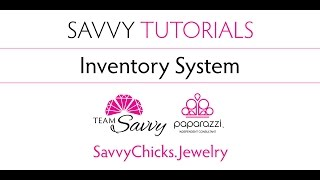 Inventory System for Paparazzi Jewelry