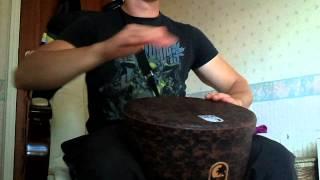 Toca SFDL 12 inch Lightweight Djembe sound test