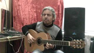 Wish You Were Here(Guitar acoustic cover)-GARRI PAT