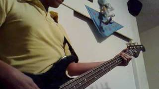 The Cranberries Time is ticking out bass cover