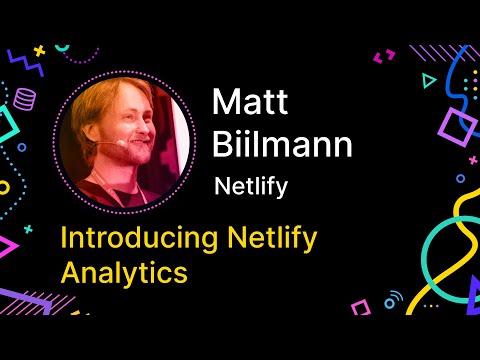 Introducing Netlify Analytics