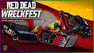 RED DEAD WRECKFEST! [WILD WEST NASCAR!] | Wreckfest | NASCAR Legends Mod