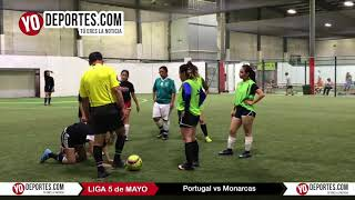 Portugal vs Monarcas Liga 5 de Mayo