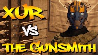 Destiny Rap Battle: Xur Vs The Gunsmith - Rise Of Iron | Daddyphatsnaps