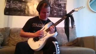 Dragonforce - through the fire and flames solo cover 2015
