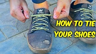 You've Been Tying your Shoes Wrong!