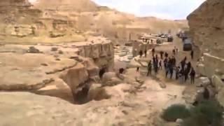 Een rivier werd opnieuw geboren in de woestijn!