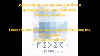 goodbye lyrics letra