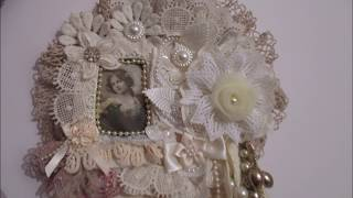 Shabby Chic Wall Hanging & 4 Page Shabby Chic Book For SALE - jennings644