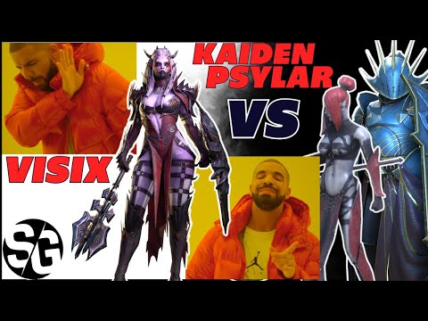 Visix VS Psylar & Kaiden FW 21 four teams, no lego, no Madame, Raid Shadow Legends The Showdown!