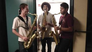 Epic Sax Guy Tenor Sax Trio