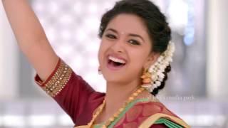 Chennai Silks Deepavali Ad with Keerti Suresh width=