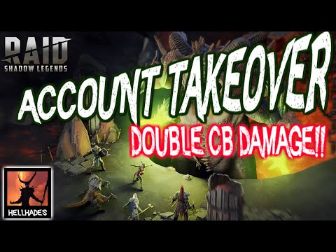 RAID: Shadow Legends | ACCOUNT TAKEOVER | OVER DOUBLED CLAN BOSS DAMAGE ON BRUTAL & NIGHTMARE!