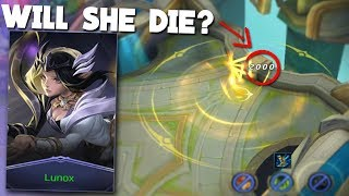 WHAT Happens To Lunox In Enemy FOUNTAIN Mobile Legends