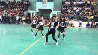 Colegio cordillera 2015 competencia de coreografías Molina