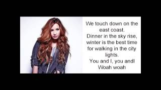 Made in The USA -  Demi Lovato (lyrics video)