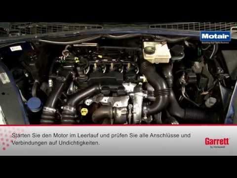 Turboladertausch am DV6TED4 1,6 PSA HDi Motor