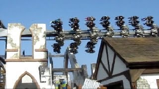 The Swarm off-ride HD Thorpe Park