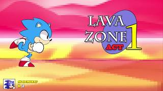 The Floor is Lava [Sonic Mania - Animation]