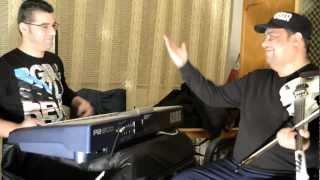 NINEL DE LA BRAILA SI MARIKANU -IMPROVIZATIE IN STUDIO LA NINEL LIVE 2013