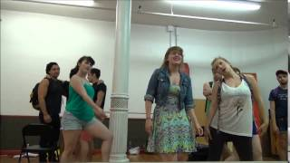 In Rehearsal:  Midtown International Theatre Festival Presents: NEW DAWN