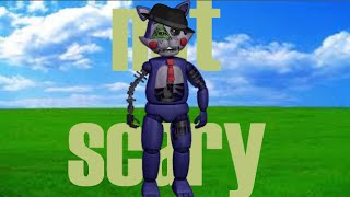 how to make five nights at candy's 2 not scary!!!!!