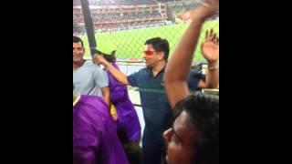 Dr Dinesh Bhutada (First Live IPL Match)