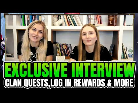 Exclusive Interview about Login Rewards, Clan Quests and more I Raid Shadow Legends