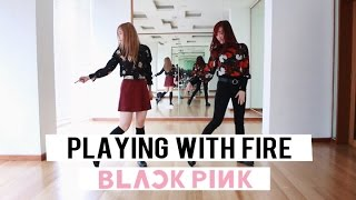 """BLACKPINK 블랙핑크 - """"PLAYING WITH FIRE"""" Dance Cover (feat. Pearl Tan) 