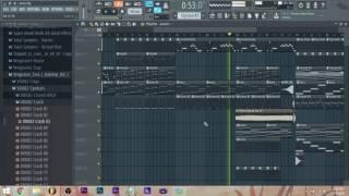 Marshmello - Alone - 8 Bit into Melodic Dubstep Remix? - Fl Studio