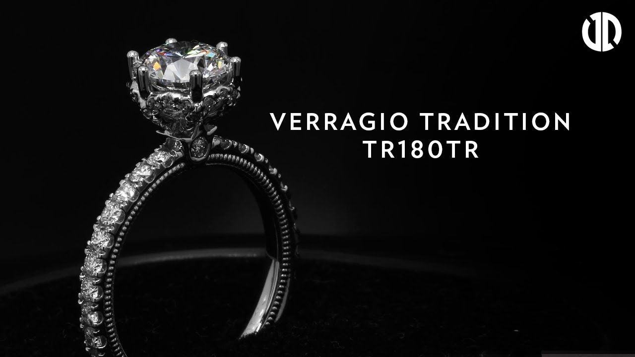 Verragio Tradition TR180TR Diamond Engagement Ring