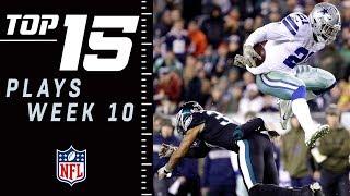 Top 15 Plays of Week 10 | NFL 2018 Highlights