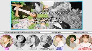 "BTS (방탄소년단) ""Outro: Love Is Not Over"" [COLOR CODED] [ROM