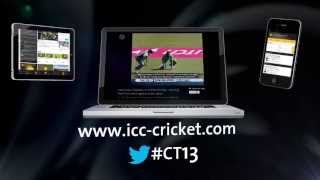 ICC Champions Trophy Official Website Promo width=