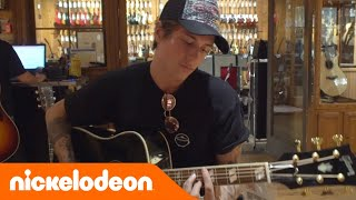 Benji & Fede @ Los Angeles | Ep. 4: Guitar Center | Nickelodeon