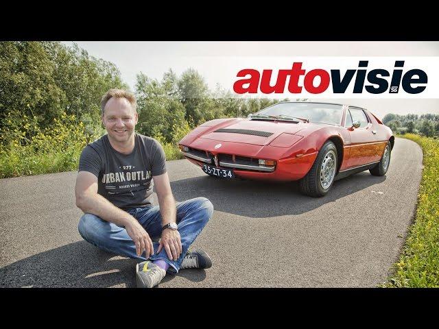 Uw Garage: Maserati Merak SS (1978) - by Autovisie TV