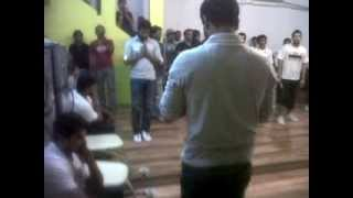 Noorin Sha wit Remo and Prabhudeva and Abcd team training