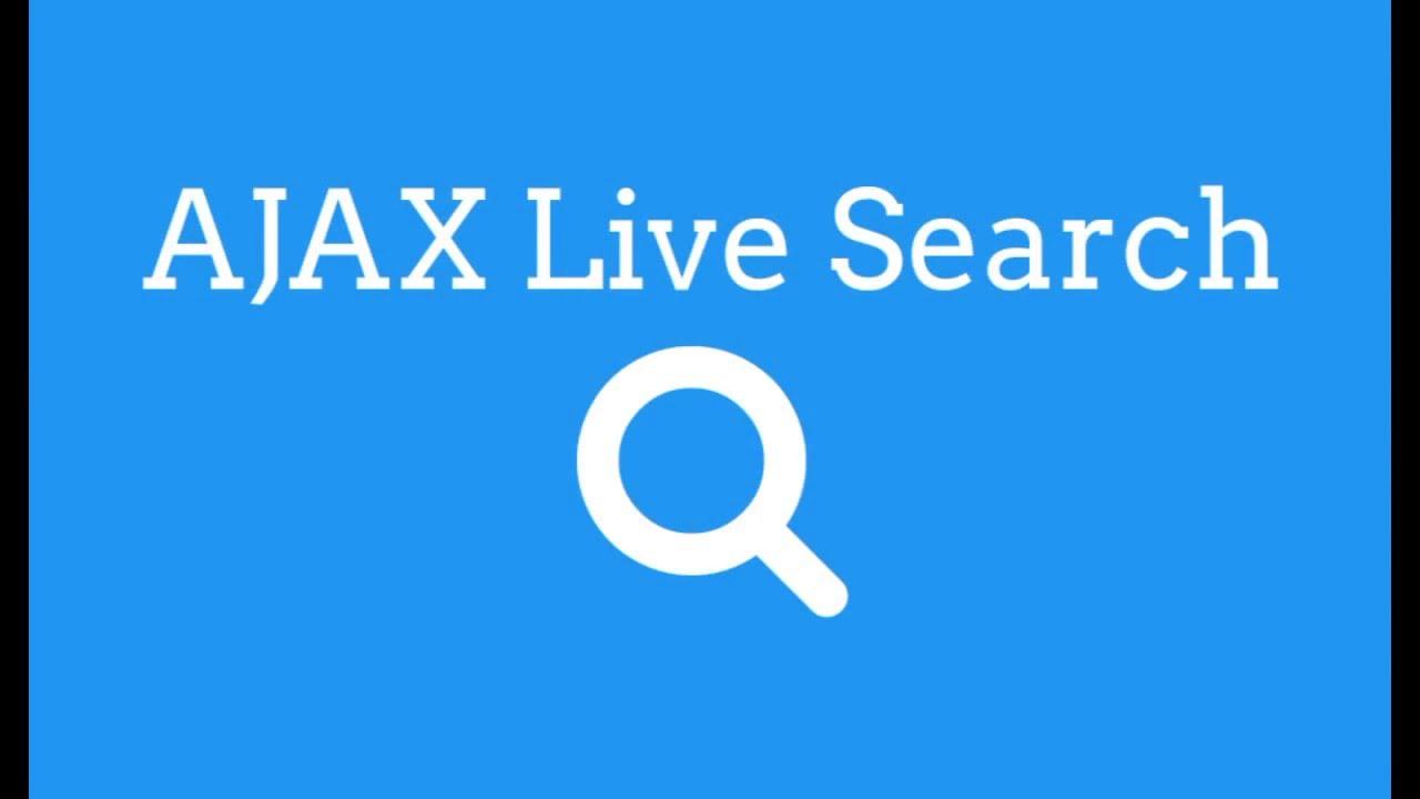 AJAX Live Search PHP, MySQL - TheMindSpeaks