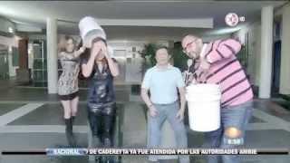 La Señora del Clima Raquel Mendez Ice Bucket Challenge