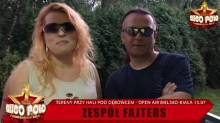 Zespół Fajters- zaproszenie na Podbeskidzką Galę Disco w Bielsku 15-go lipca