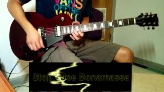 "Joe Bonamassa - ""Stop"" - Guitar Cover - Arthur Martins"